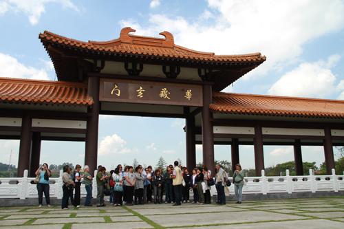 """Visita ao Templo Budista """"Zu Lai"""" traz boas experiências aos participantes do Qualidade de Vida"""