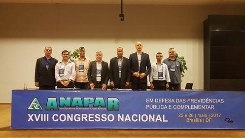 Afubesp participa do Congresso da Anapar