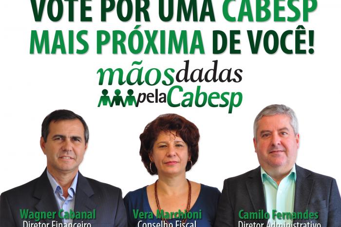 Eleições: Leia e compartilhe o jornal da chapa Mãos Dadas pela Cabesp