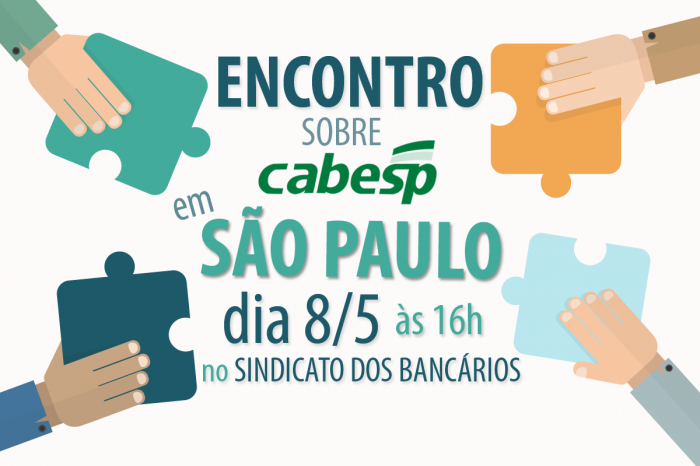 Encontro sobre Cabesp em São Paulo será dia 8 de maio