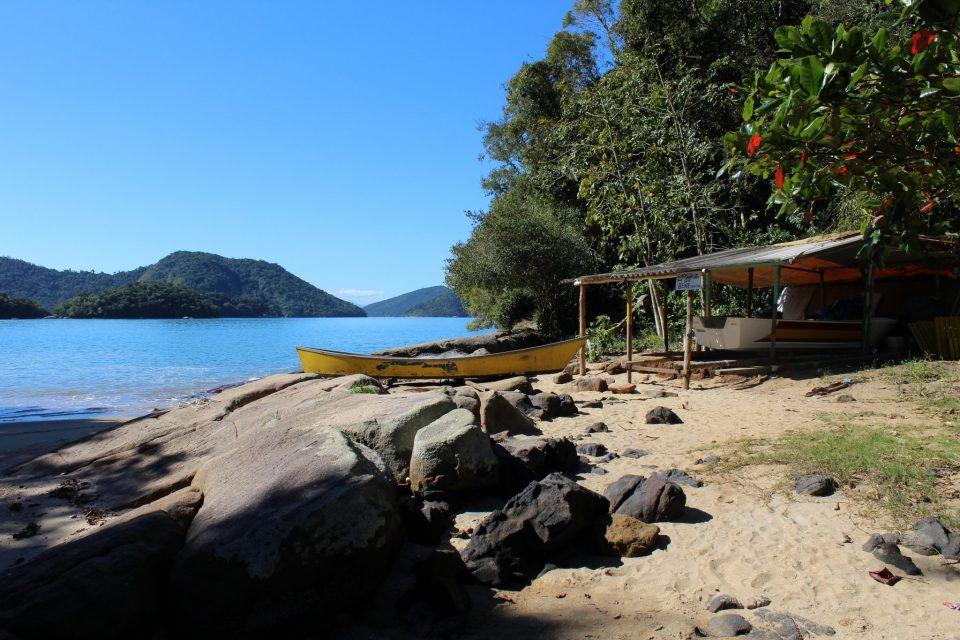 O paraíso fica em Paraty Mirim