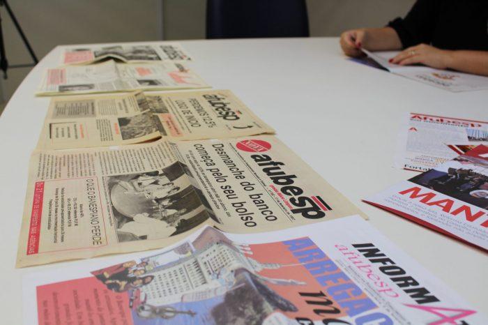 Jornais da Afubesp ao longo do tempo
