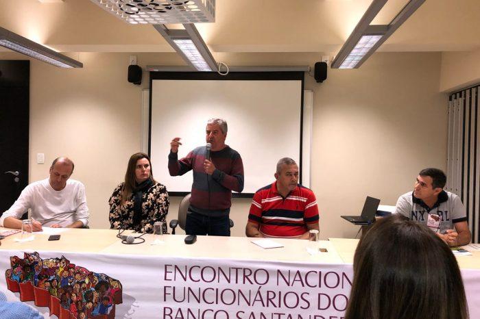 Bancários do Santander fazem encontro nacional em São Paulo