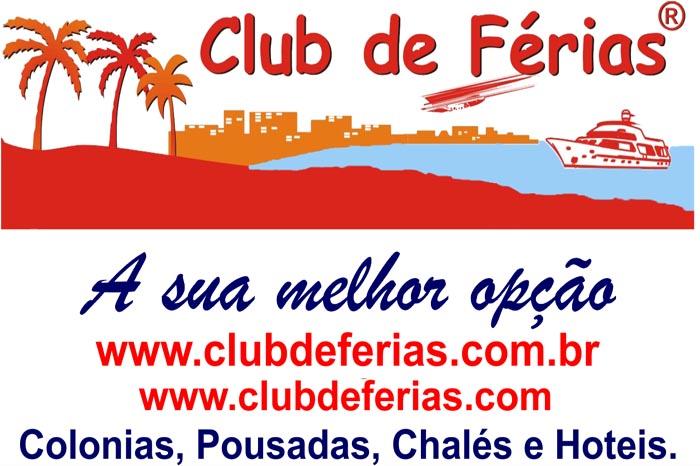 Confira as próximas viagens do Club de Férias