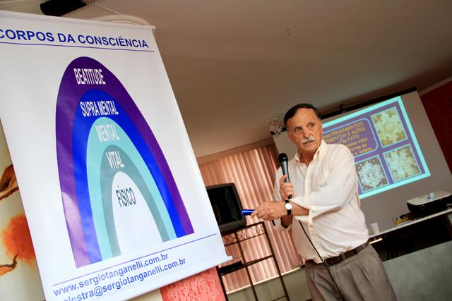 Confira vídeo da palestra Matéria e Consciência - uma visão quântica