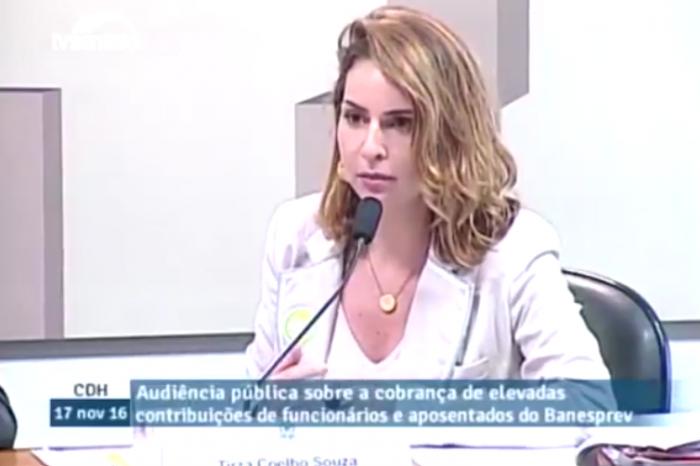 Advogada Tirza Coelho dá parecer jurídico sobre o Serviço Passado