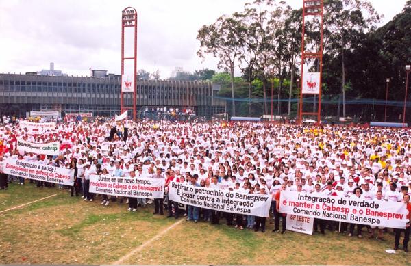 Luta antes e pós-privatização do Banespa