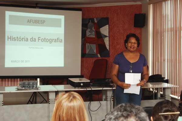 Palestra sobre História da Fotografia
