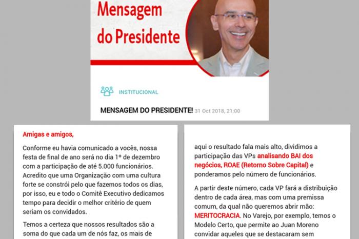 Santander limita comemoração de fim de ano a 5 mil funcionários usando 'meritocracia' como critério