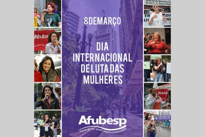 Dia Internacional da Mulher: ato unificado acontece hoje em São Paulo