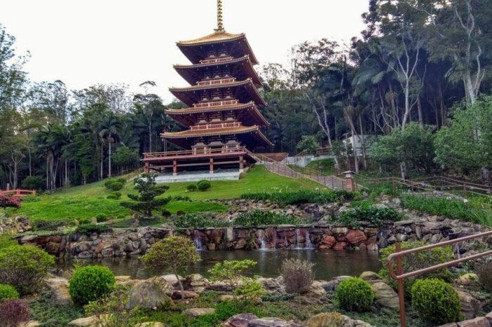 Tranquilidade do Templo Miroku para começar o ano do Qualidade de Vida. Vagas esgotadas!