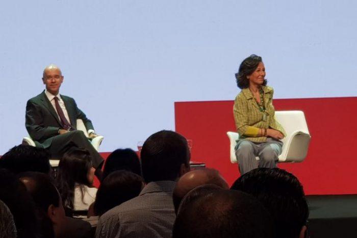 Presidenta mundial do Santander faz encontro com funcionários; Movimento sindical pede diálogo