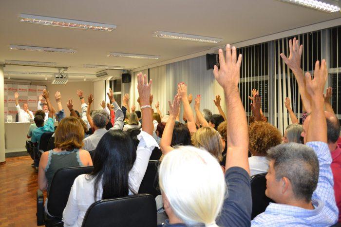Por unanimidade, assembleia aprova ação judicial contra a Previc e Banesprev/Santander