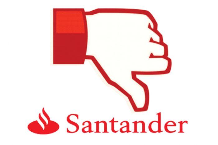 Santander é líder de queixas no ranking do Banco Central