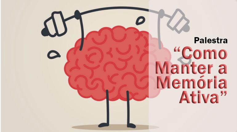 Palestra sobre como manter a memória ativa no Qualidade de Vida