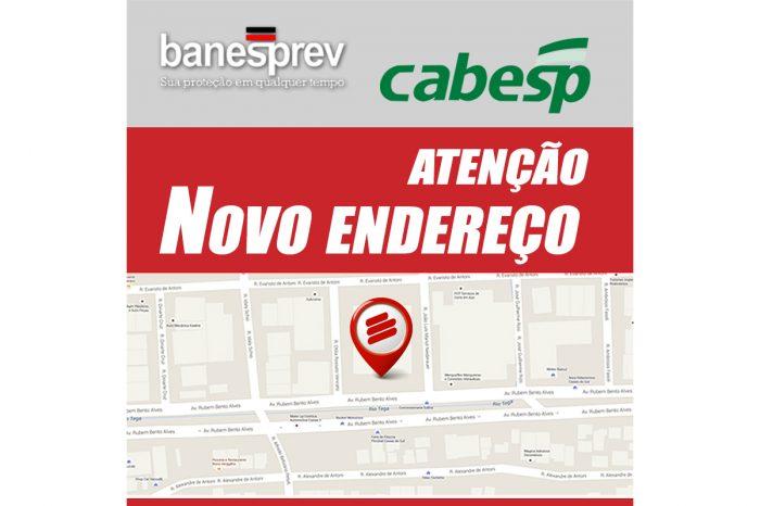 Comunicado - Banesprev e Cabesp em novo endereço