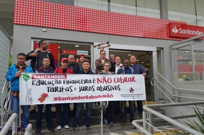Santander reduz projeto de orientação financeira