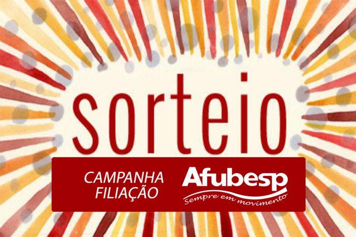 Sorteio - Confira os ganhadores da Campanha de Filiação da Afubesp!