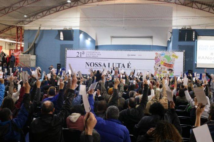 Bancários fortalecem a unidade nacional e traçam estratégias para defesa de direitos