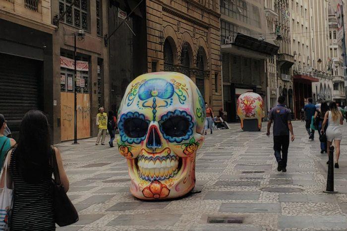 O jeito de mexicano de celebrar finados invade São Paulo