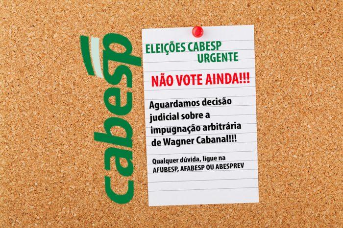 Eleição Cabesp URGENTE!!!