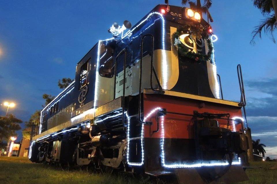 Expresso Noel faz viagem noturna em clima de Natal de Campinas a Jaguariúna