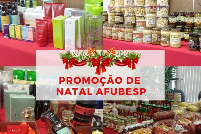 Até dia 20 tem Promoção de Natal da Afubesp