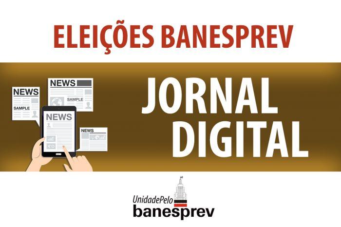 Eleições: Baixe o jornal de campanha da chapa 'Unidade pelo Banesprev'
