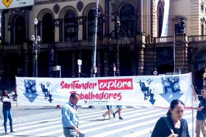 Escândalos marcam lucro do Santander em 2019