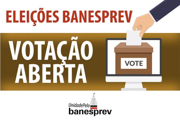 Eleições: Caso não tenha recebido a senha para votar, entre em contato com o Banesprev; Votação já começou