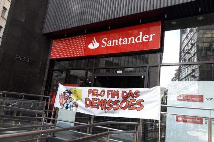 Santander atende reivindicação do Sindicato e não demitirá durante pandemia