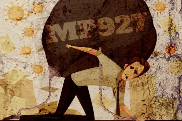 MP 927 coloca o ônus da pandemia nas costas do trabalhador