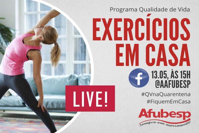 #QVNaQuarentena | Exercícios para maduros – Aula 2