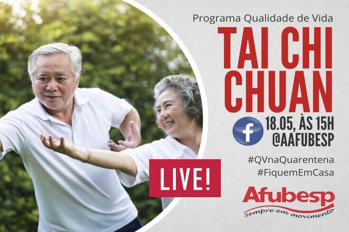 #QVNaQuarentena | Segunda live de Tai Chi Chuan acontece no próximo dia 18