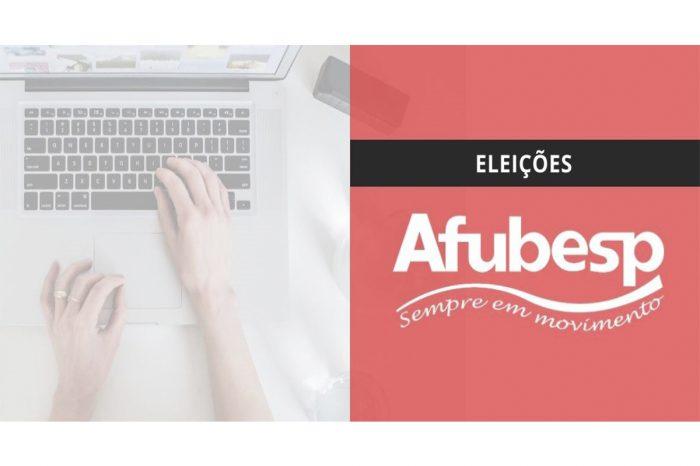 Eleição da Afubesp será eletrônica de 18 a 22 de maio