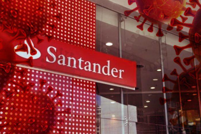 Sindicato cobra que Santander reforce orientações para Covid-19