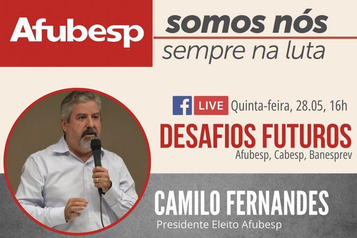 Eleição 2020: Camilo Fernandes é reeleito para a presidência da Afubesp