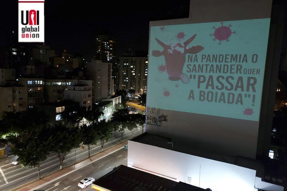 Campanha mundial é lançada contra demissões no Santander Brasil