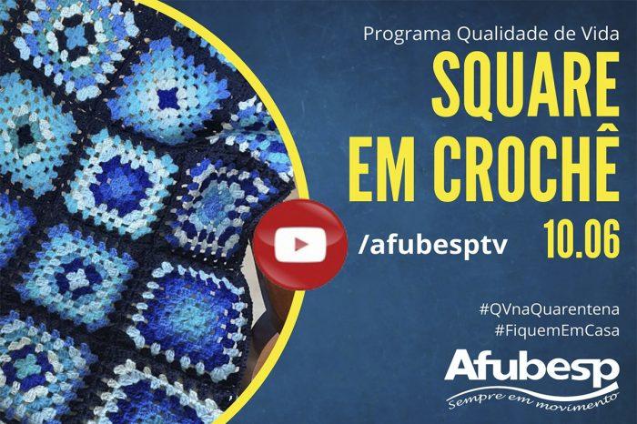 #QVnaQuarentena: Aprenda a confeccionar manta de crochê