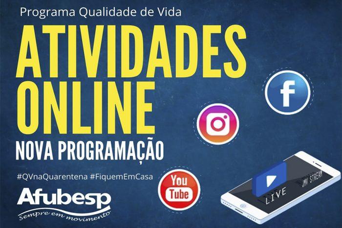 #QVNaQuarentena entra na terceira fase; confira programação e lista com as atividades anteriores!