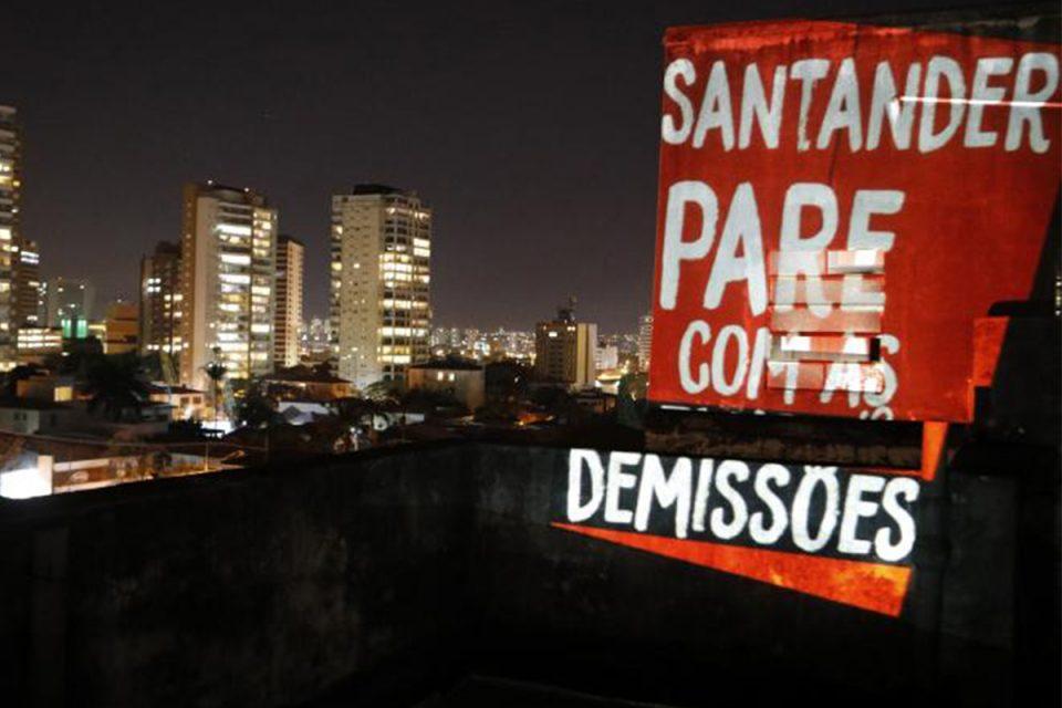 Santander se nega a negociar fim das demissões