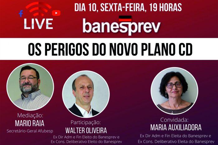 Banesprev - Segunda live sobre o novo Plano CD acontece na próxima sexta 10