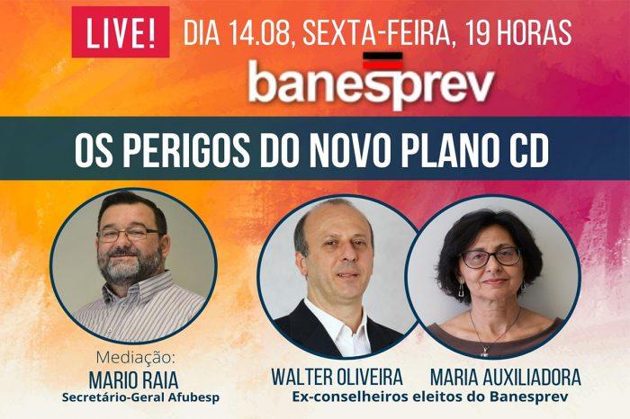 Perigos Plano CD - Série de lives continua na próxima sexta 14