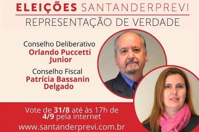 SantanderPrevi retoma processo eleitoral; Conheça os candidatos apoiados pela Afubesp