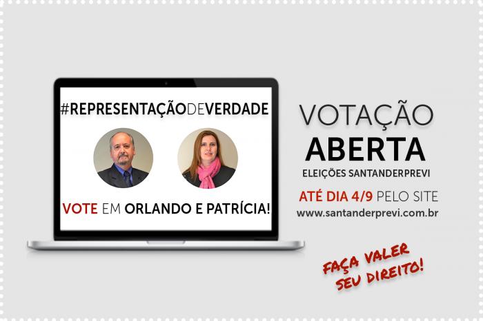 Eleições SantanderPrevi terminam hoje (4); Vote até as 17h