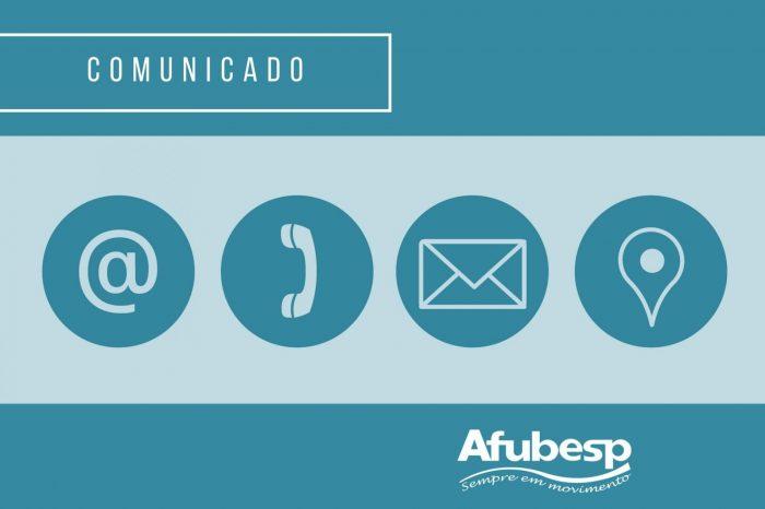 Telefones da Afubesp em manutenção; Situação será em breve normalizada