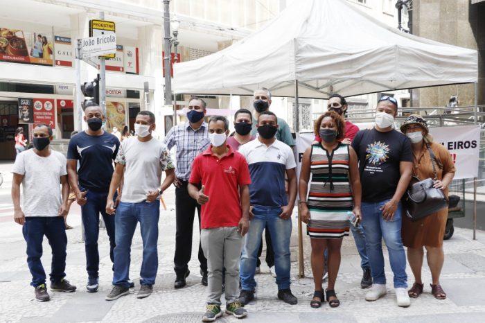 Sindicato protesta contra retorno do home office no Santander