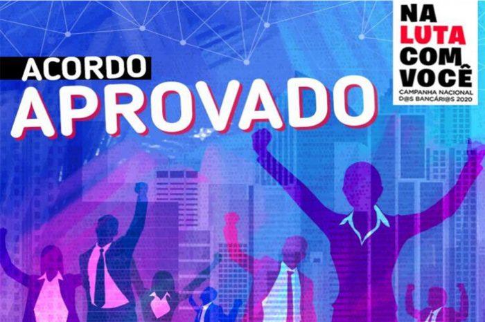 Campanha Nacional 2020 - Aprovado acordo com manutenção de direitos e reajustes