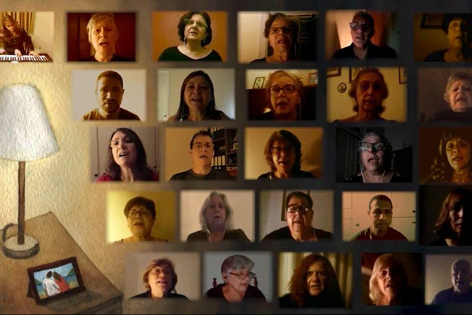 Há 18 anos em atividade, o Grupo Vozes traz um respiro cultural durante a pandemia