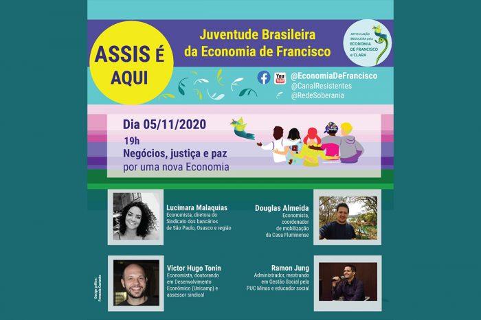 Dirigente da Afubesp debate nova economia com justiça social em live